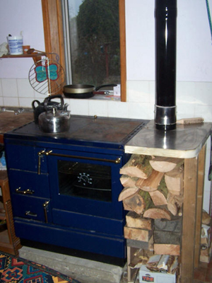 Wood fired cooker