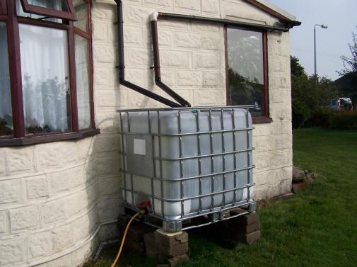 Rainwater Storage Ecodiy Diy Eco House